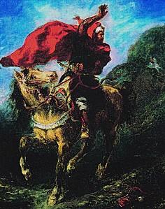 DELACROIX chef marocain faisant signe