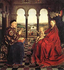 La Vierge de Van Eyck