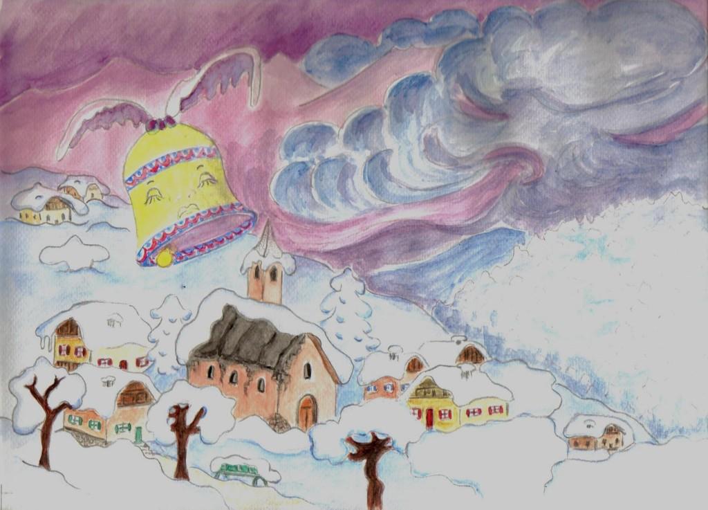 la cloche PASCALINE en hiver 2